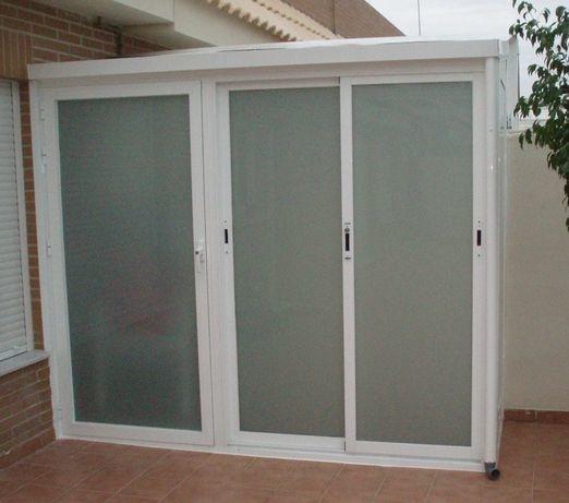 Armarios exteriores de aluminio y cristal Valencia