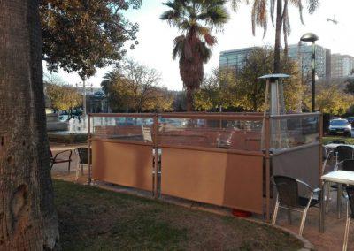 separador de terrazas valencia