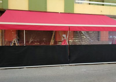toldos, cerramientos, separadores de terrazas